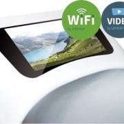 Пиcсуар безводный Urimat eco video с экраном 7