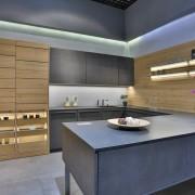 Кухонный гарнитур LEICHTConcrete - Valais  Распродажа со склада  в наличии